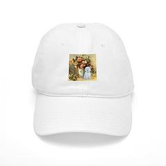 Vase / Maltese (B) Baseball Cap