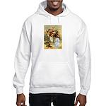 Vase / Maltese (B) Hooded Sweatshirt