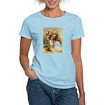 Vase / Maltese (B) Women's Light T-Shirt