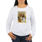 Vase / Maltese (B) Women's Long Sleeve T-Shirt