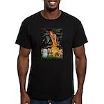 MidEve / Maltese Men's Fitted T-Shirt (dark)