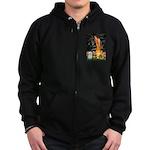 MidEve / Maltese Zip Hoodie (dark)