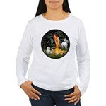 MidEve / Maltese Women's Long Sleeve T-Shirt