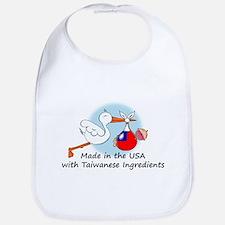 Stork Baby Taiwan USA Bib