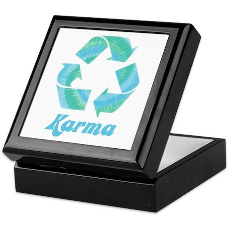 Recycle Karma Keepsake Box