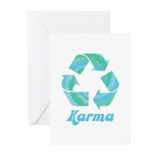 Recycle Karma Greeting Cards (Pk of 10)