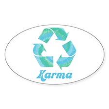 Recycle Karma Decal