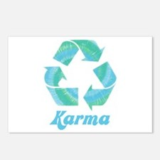 Recycle Karma Postcards (Package of 8)
