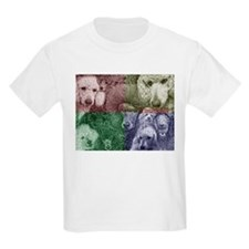 FBPoodlegroupcollage2 T-Shirt