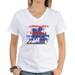 good girls Women's V-Neck T-Shirt