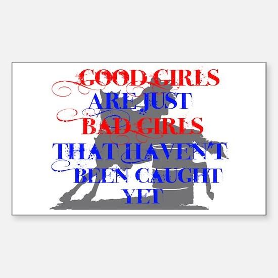 good girls Sticker (Rectangle)