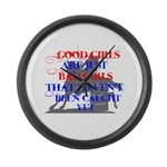 good girls Large Wall Clock