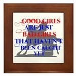 good girls Framed Tile