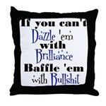 Brilliance? Throw Pillow