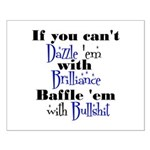 Brilliance? Small Poster
