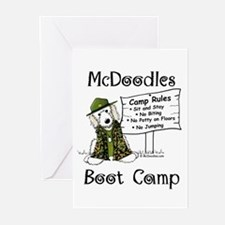 McDoodles Boot Camp Logo Greeting Cards (Pk of 10)