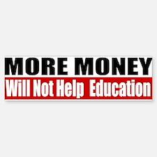 More Money Sticker (Bumper)
