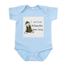 McDoodles Boot Camp Logo Infant Bodysuit