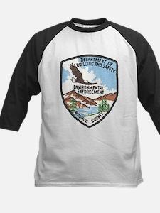 Environmental Enforcment Kids Baseball Jersey