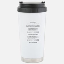 Cute Knitting needle Travel Mug