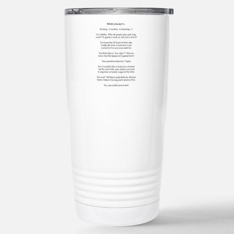 Cute Irritation Travel Mug