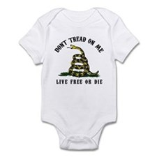 Don't Tread On Me 3 Infant Bodysuit