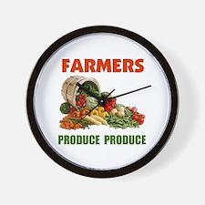 FARMERS RULE ! - Wall Clock