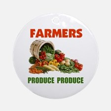 FARMERS RULE ! - Ornament (Round)