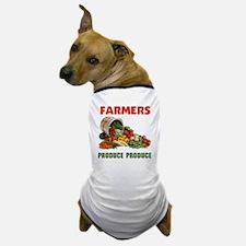 FARMERS RULE ! - Dog T-Shirt
