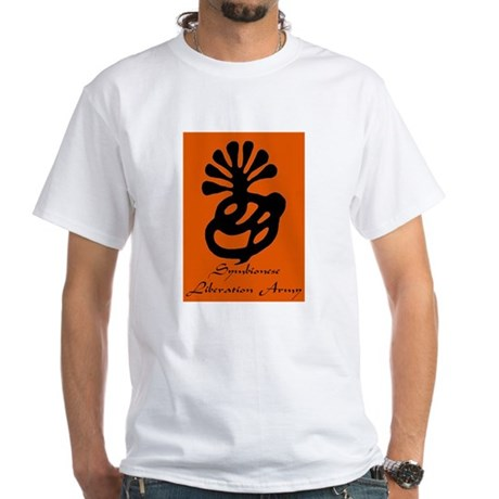 Symbionese Liberation Army White T-Shirt