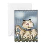 The Cat's Meow Greeting Cards (Pk of 10)