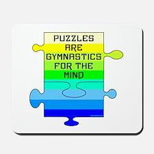 Jigsaw Puzzle Pieces Mousepad