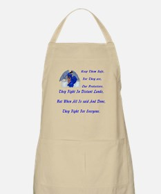 keep them safe kids and baby Apron