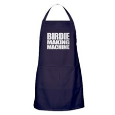 Birdie Making Machine Apron (dark)