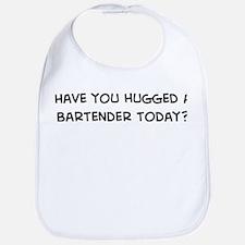 Hugged a Bartender Bib