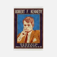 Robert F. Kennedy Rectangle Magnet