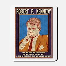 Robert F. Kennedy Mousepad