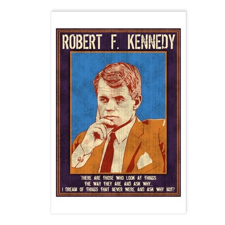 Robert F. Kennedy Postcards (Package of 8)