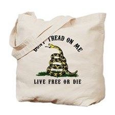 Don't Tread On Me 3 Tote Bag