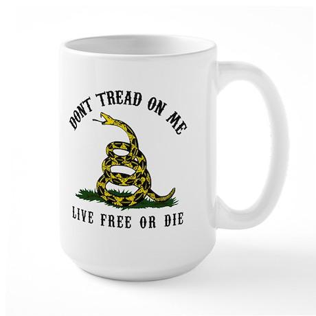 Don't Tread On Me 3 Large Mug