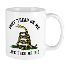 Don't Tread On Me 3 Small Mug