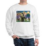 St. Francis & Tibetan Terrier Sweatshirt