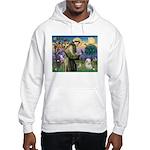 St. Francis & Tibetan Terrier Hooded Sweatshirt