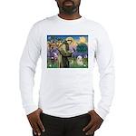 St. Francis & Tibetan Terrier Long Sleeve T-Shirt