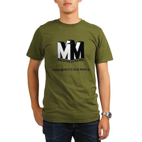Massive Dynamic Organic Men's T-Shirt (dark)