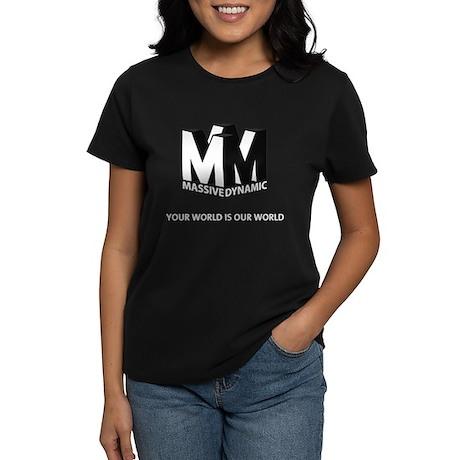 Massive Dynamic Women's Dark T-Shirt