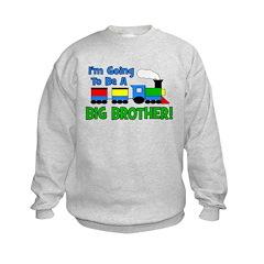 Big Brother To Be TRAIN Sweatshirt