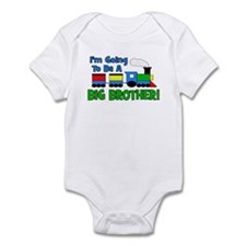 Big Brother To Be TRAIN Infant Bodysuit