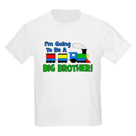 Big Brother To Be TRAIN Kids Light T-Shirt