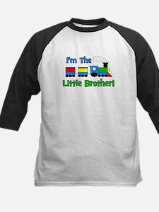 Little Brother TRAIN Kids Baseball Jersey